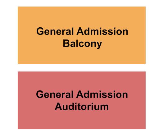 Scottish Rite Hall - Omaha seating chart event tickets center