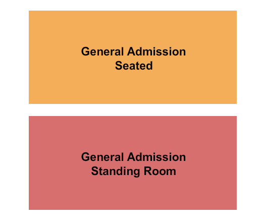 seating chart for Evanston Space GA Seated & GA Standing - eventticketscenter.com