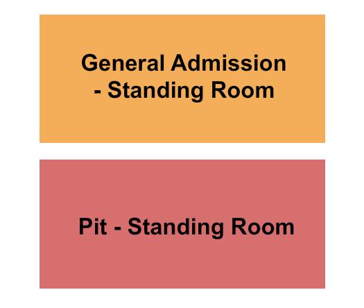 seating chart for Buffalo Run Casino PIT - GA - eventticketscenter.com