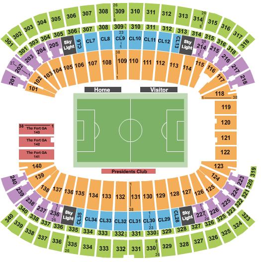 Gillette Stadium seating chart event tickets center
