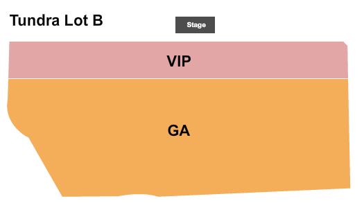 Tundra Lot B at Globe Life Field Seating Chart
