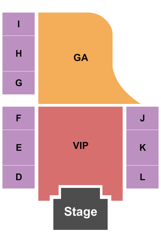 H20 Outdoor Concert at Golden Nugget - Lake Charles Seating Chart