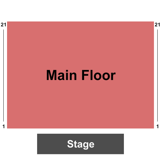 Graceland Soundstage seating chart event tickets center