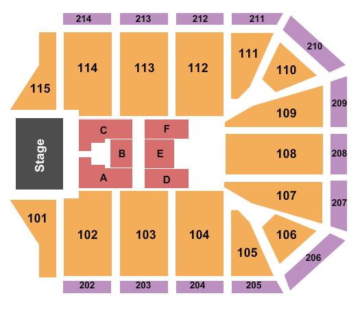 Grand Canyon University Arena Seating Chart