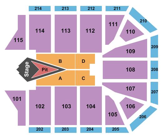 Grand Canyon University Arena Floor Plan