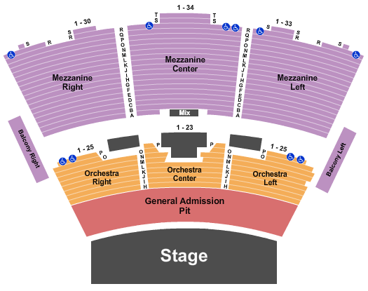 Grand Sierra Theatre Floor Plan