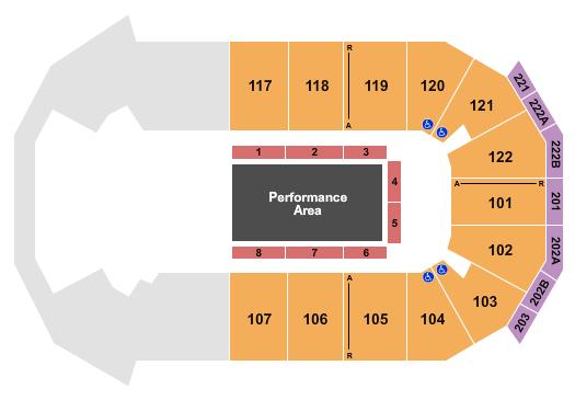 HEB Center at Cedar Park Cirque Ma'Ceo seating chart - eventticketscenter.com