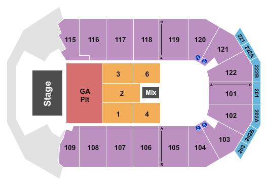 HEB Center at Cedar Park seating chart event tickets center