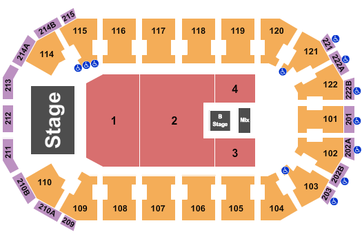 HEB Center at Cedar Park seating chart event tickets center