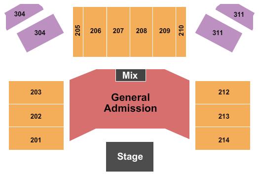 Hard Rock Live At Etess Arena Seating Chart