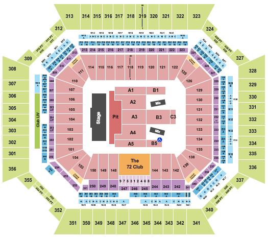 Hard Rock Stadium seating chart event tickets center