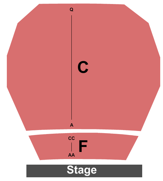Harold Shenkman Hall  Seating Chart