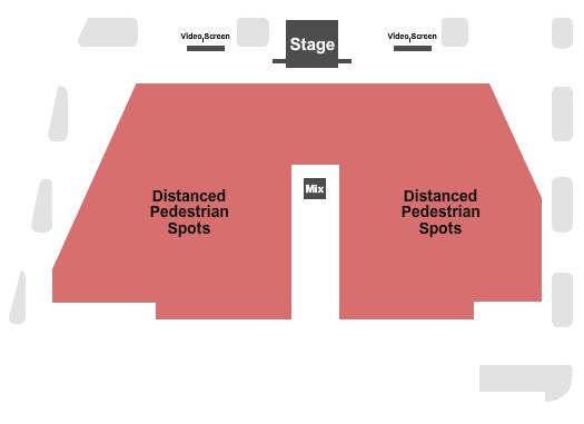 seating chart for Harrah's - Atlantic City Bayside Rock Live - eventticketscenter.com