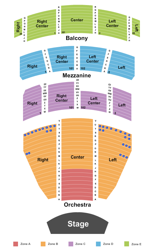 Harry and Jeanette Weinberg Theatre At The Scranton Cultural Center - Masonic Temple seating chart event tickets center