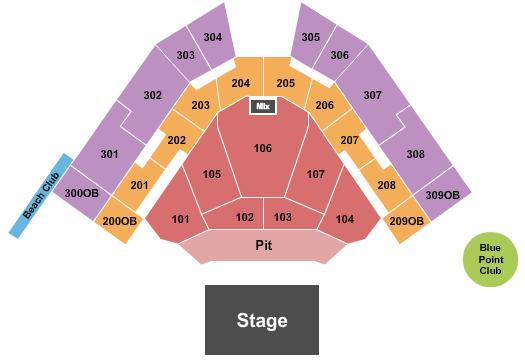 Hartford HealthCare Amphitheater Floor Plan