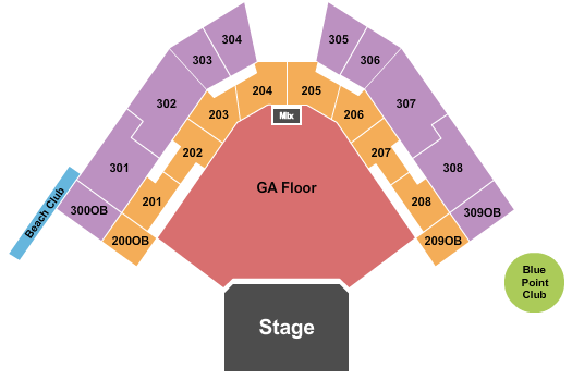 Hartford HealthCare Amphitheater Seating Chart