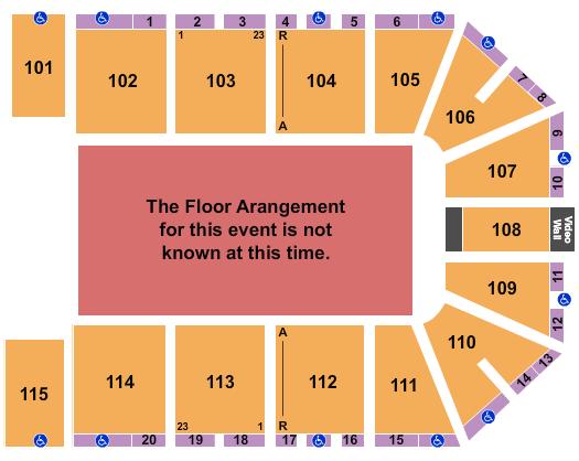 Hartman Arena Floor Plan