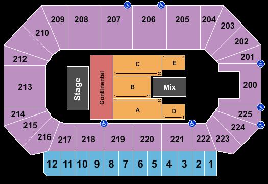 Heartland Events Center Floor Plan
