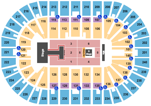 Heritage Bank Center seating chart event tickets center