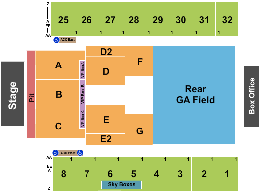 Hersheypark Stadium Seating Chart