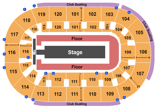 Hertz Arena seating chart event tickets center