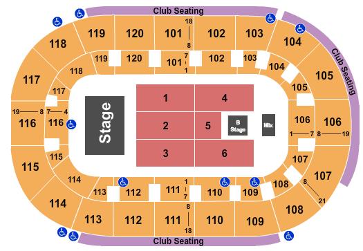 TobyMac Hertz Arena Seating Chart