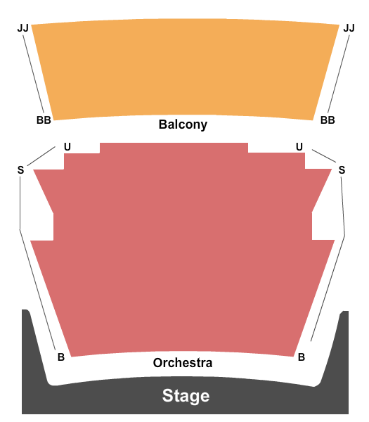 High Point Theatre Seating Chart Plan