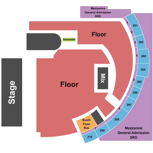History - Toronto seating chart event tickets center