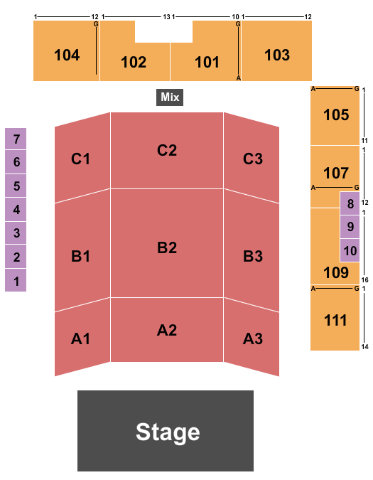 Holland Civic Center Seating Chart