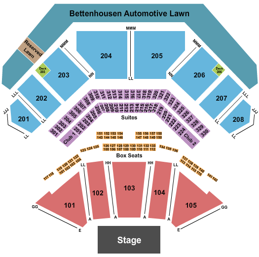 Hollywood Casino Amphitheatre - Tinley Park seating chart event tickets center
