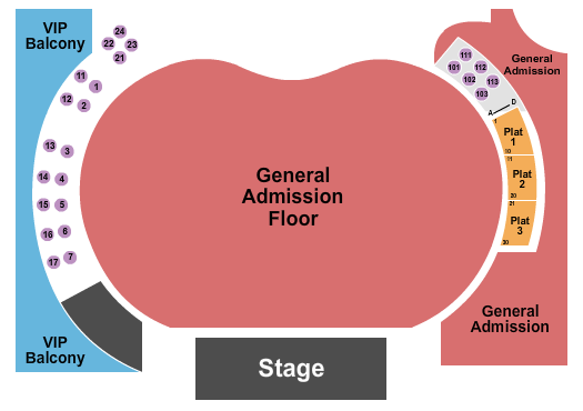 Hollywood Palladium seating chart event tickets center