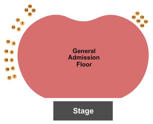 Hollywood Palladium seating chart event tickets center