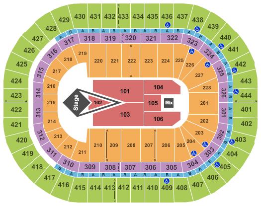 Honda Center seating chart event tickets center