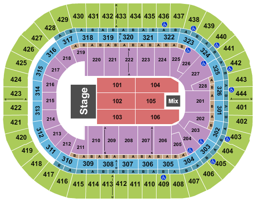 Honda Center (formerly Arrowhead Pond) Seating Chart