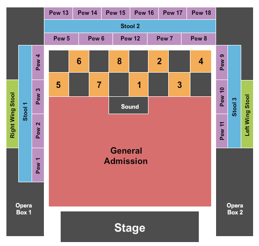 House Of Blues - Myrtle Beach seating chart event tickets center
