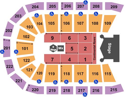 Huntington Center Seating Chart Plan