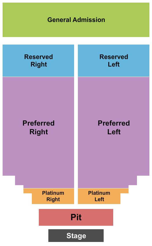SERVPRO Richmond Pavilion seating chart event tickets center