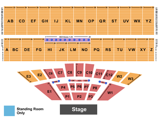 Iowa State Fair seating chart event tickets center