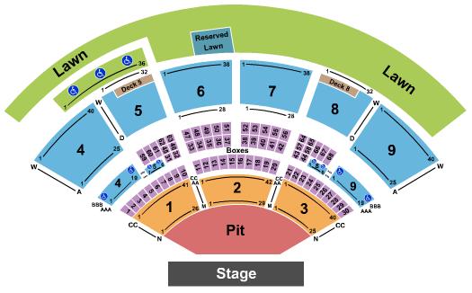 Isleta Amphitheater Floor Plan