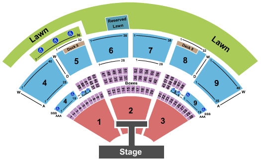 Isleta Amphitheater Rascal Flatts seating chart - eventticketscenter.com