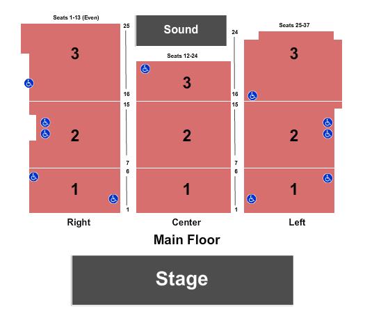 Jackson Rancheria Hotel & Casino Seating Chart