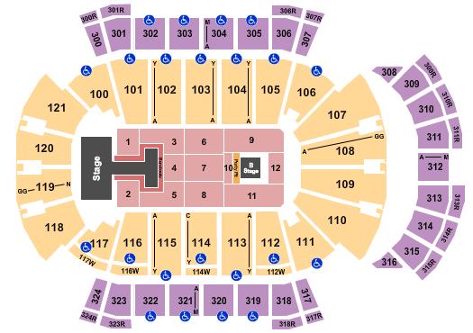 VyStar Veterans Memorial Arena seating chart event tickets center