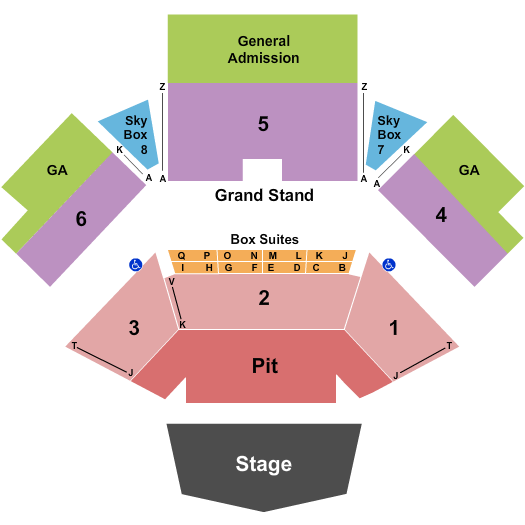 Jacobs Pavilion seating chart event tickets center
