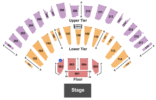 James L Knight Center seating chart event tickets center