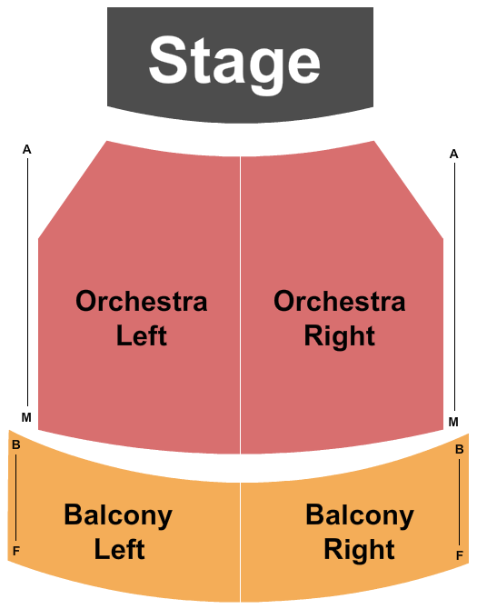 Jane Pickens Theater Seating Chart