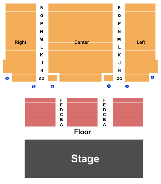 Janet & Ray Scherr Forum Theatre - Bank of America Performing Arts Center seating chart event tickets center