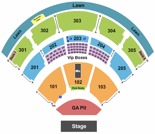 Jiffy Lube Live seating chart event tickets center