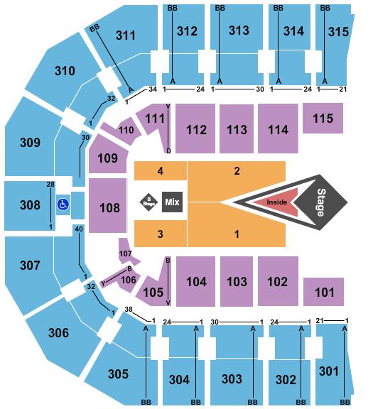 John Paul Jones Arena seating chart event tickets center