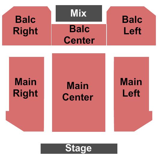 Kenan Auditorium Seating Chart