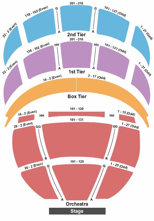 Kennedy Center Opera House Seating Chart Plan